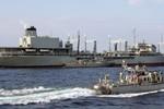 Tàu chiến Hạm đội 24 của Hải quân Iran cập cảng Trung Quốc