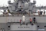 Tàu chiến Hạm đội 7 Hải quân Mỹ cập cảng Philippines