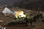 Ảnh: Quân đội Mỹ - Hàn tập trận ngày 13/3