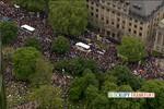 20 ngàn người biểu tình bao vây trụ sở Ngân hàng Trung ương châu Âu