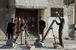 Obama chi viện cho phiến quân Syria vũ khí chống tăng, đạn dược