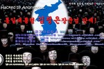 """Anonymous nghi binh: Dọa """"đánh"""" Triều Tiên nhưng lại tấn công Hàn Quốc"""