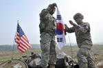 Mỹ huy động toàn bộ binh sĩ tại Hàn Quốc tham gia tập trận chung