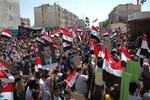 Video: Dân thành Homs đổ xuống đường ủng hộ quân đội Syria