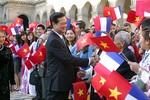 Ảnh: Ngày đầu tiên thăm Pháp của Thủ tướng Nguyễn Tấn Dũng