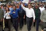Sam Rainsy kêu gọi 1 ngày tổng đình công trên toàn Campuchia