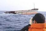Một người Việt Nam mất tích trên tàu hàng Trung Quốc chìm ở Hàn Quốc