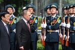 Tổng thống Putin thăm Việt Nam, ký gần 20 văn bản hợp tác quan trọng
