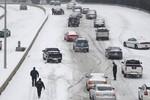 Bão tuyết mạnh hoành hành nước Mỹ
