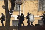 Bộ Nội vụ Ukraina cho phép cảnh sát dùng vũ khí trong bạo loạn