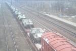 Video: Dân Ukraine chặn đoàn xe chở vũ khí tới biên giới Nga