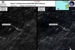Lộ hình ảnh vật thể giống mảnh vỡ máy bay Malaysia ở Ấn Độ Dương