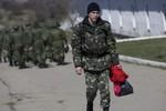 Ukraine ra lệnh rút quân khỏi Crimea