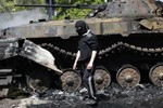 Ukraine: Cấp dưới chống lệnh đàn áp biểu tình, Cảnh sát trưởng nổ súng