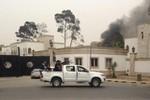 Các tay súng nổi loạn tấn công tòa nhà Quốc hội Libya