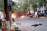 Ảnh: Hiện trường vụ tấn công khủng bố đẫm máu ở Tân Cương