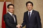 Phó TT Vũ Đức Đam hội đàm với Thủ tướng Nhật Bản về vụ giàn khoan 981