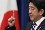 Thủ tướng Nhật lo ngại Trung Quốc sẽ dùng vũ lực ở Biển Đông.