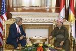 Kerry thuyết phục người Kurd giúp chính phủ Iraq chống khủng bố