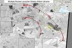 Mỹ công bố ảnh vệ tinh Nga bắn quân đội Ukraine xuyên biên giới