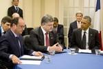 Ukraine và phe ly khai ngừng bắn, hy vọng ký kết thỏa thuận hòa bình