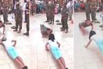 Video: Bé gái mảnh khảnh chống đẩy đánh bại thiếu sinh quân Mỹ