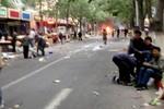 Một loạt vụ nổ xảy ra ở Tân Cương tối qua 21/9