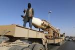 IS mang tên lửa MANPAS tiến tới gần Baghdad