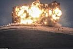 Ảnh: Cận cảnh thời điểm Mỹ không kích IS ở Kobani