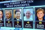 Putin tiếp tục đánh bại Obama trên danh sách người quyền lực của Fobes