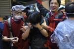 Cảnh sát Hồng Kông giải tỏa tụ điểm biểu tình, bắt giữ 80 người