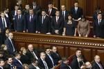 Quốc hội Ukraine bổ nhiệm 3 người nước ngoài làm Bộ trưởng
