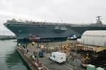 Mỹ bắt giữ kỹ sư trộm bản thiết kế tàu sân bay USS Gerald R.Ford