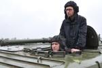 """Tổng thống Czech: Yatsenyuk là """"Thủ tướng của chiến tranh"""""""