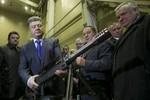 Poroshenko: Đã ký kết mua vũ khí sát thương của 11 nước châu Âu