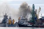 Hỏa hoạn tại tàu ngầm Eagle của Nga