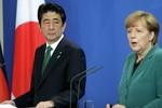 Báo Nga: Thủ tướng Đức thuyết phục Nhật Bản gia nhập AIIB