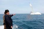 Chuyên gia Mỹ, Đức mổ xẻ ảnh Triều Tiên phóng tên lửa đạn đạo tàu ngầm