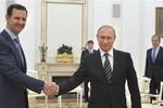 Tổng thống Syria Assad bất ngờ sang Moscow gặp Putin