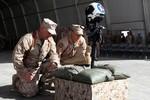 Mỹ tổ chức lễ tang quân nhân ngay tại chiến trường