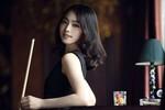 Vẻ đẹp kiều diễm của nữ hoàng billiards Hàn Quốc