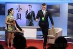 Beckham thi tâng cầu với người đẹp Trung Quốc