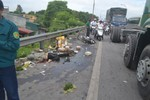 Tai nạn nghiêm trọng: 1 người chết tại chỗ, QL 1A ách tắc nhiều giờ