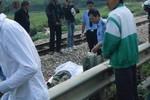 Cố tình băng qua đường sắt, một người dân bị tàu cán chết