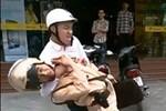 CSGT Thanh Hóa bị một thanh niên đấm tới tấp vào mặt