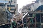 Hình ảnh khắc phục sự cố sập giàn giáo Dự án đường sắt Cát Linh-Hà Đông