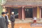 Hủy quyết định xếp hạng di tích cấp tỉnh đối với Đền thờ Hoàng giáp Lê Nhân Tế