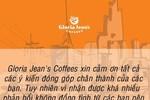 Gloria Jean's Coffee xin lỗi và dừng quảng cáo gây bức xúc