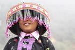 Nụ cười trẻ em người Mông đón Tết