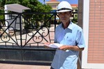 Gần nghỉ hưu, một thí sinh vẫn dự thi trung học phổ thông Quốc gia